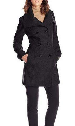 Acevog Wool Trench Coat
