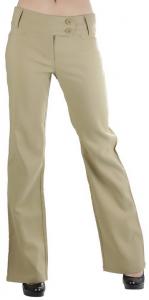 ToBeInStyle Women's High Waist Boot-Cut Dress Pants