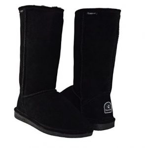 BEARPAW Women's Emma Tall Shearling Boots
