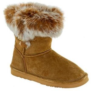 Round Toe Suede Winter Boot