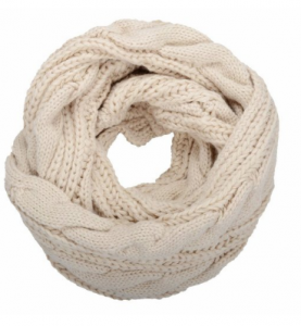 NEOSAN Women's Thick Ribbed Knit Winter Infinity Circle Loop Scarf