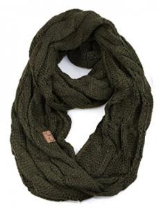 NYFASHION101® Soft Winter Warm Chunky Knit Cowl Infinity Loop Scarf
