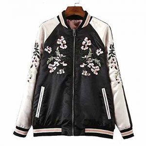Viport Embroidered Bomber Jacket