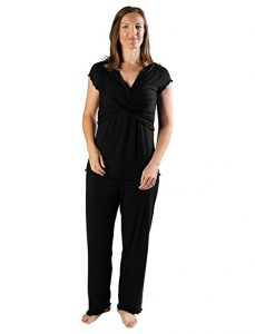 Kindred Bravely the Davy Ultra Soft Maternity & Nursing Pajamas Sleepwear Set