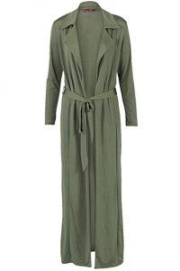 Momo&Ayat Fashions Green Duster