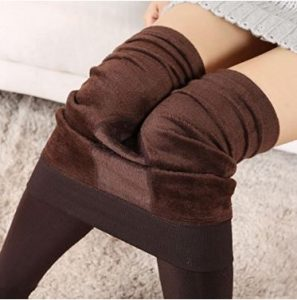 Franterd®Women Winter Thick Warm Fleece Lined Thermal Stretchy Leggings