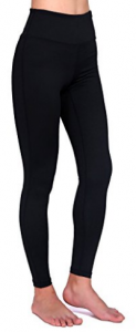 Daisity Women's Yoga Pants - Gym Activewear Slim Spandex Tights - Hidden Pocket