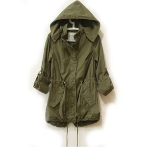 Easy Leisure Army Green Military Jacket