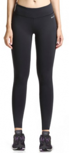 Baleaf Women's Ankle Legging Inner Pocket Non-See-through Fabric