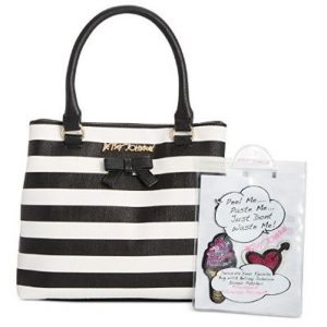 Betsey Johnson Satchel with Patches