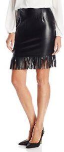 Karen Kane Women's Fringe Pencil Skirt
