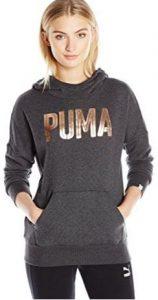 PUMA Women's Style Foil Hoody W