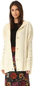 Wildfox Women's Cable Blanket Hoodie