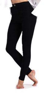 June Julien Women's Basic Jeans Jeggings Stretch Denim Skinny Pants