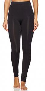 Franato Women's Seamless Full-Length Leggings High Waist Slimming